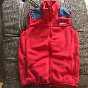 Vineyard Vines fleece vest